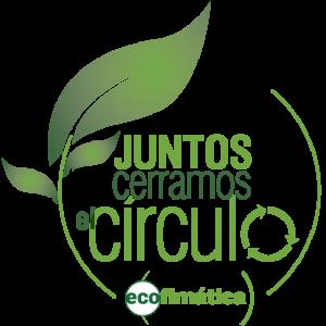 círculo de reciclaje
